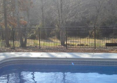 This is Siskin style which is a premium quality pool fence as are all the other OnGuard fence styles. You'll be very pleased with the distinctive rail shape that gives these sections a much classier look than that sold by other manufacturers.