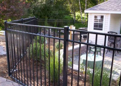 Starling style 54 inch BOCA Cod compliant pool fence is our most popular seller. It is in stock in black - fully assembled and ready for delivery or pick up. This aluminum pool fence is also available in all the other OnGuard colors. Lead time is usually 2 weeks.