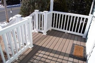profencesupply.com is an authorized distributor of Illusions fence and vinyl deck railing, Grand Illusions color fence and color vinyl deck railing as well as WoodBond wood grain vinyl fence and vinyl deck railing. We ship everwhere in the United States! Click here to visit the Illusions vinyl railing page.