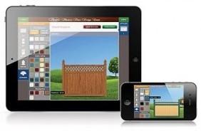 Download your Grand Illusions Vinyl Fence Designer App!