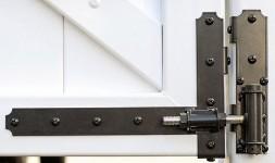 Illusions vinyl fence gate hardware