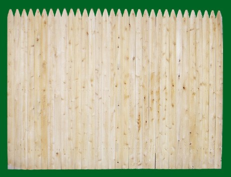 Eastern Premium White Cedar Stockade fence is available in heights of 4, 5, 6 and 8 feet.