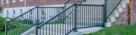 profencesupply.com is proud to offer Eastern Ornamental Aluminum Railing