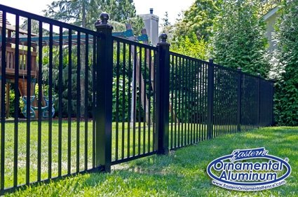 Eastern Ornamental EO40V two rail, 48 inch tall Pool Fence
