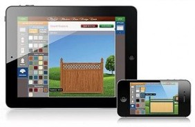 The Illusions Fence designer app is available for free at your local app store!