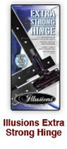 Illusions vinyl fence X-Tra strong gate hinge PDF