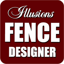 Click here or on image to enter the Illusions Vinyl Fence Design Center.