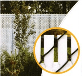 We ship Top Lock Chain Link Fence Slats anywhere in the U.S.A.