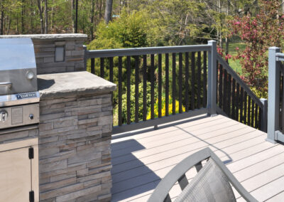 Pick your favorite colors and design a railing in the Grand Illusions Deck Railing designer. You'll be able to see your project in 3D and even get a material list for your railing.