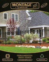 Ameristar Montage rackable steel fence brochure