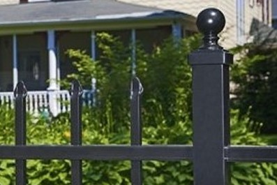 Eastern Ornamental Aluminum Fence