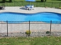 Siskin Aluminum Pool Fence by OnGuard