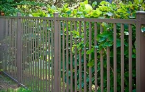 Eastern Ornamental aluminum two rail 48 inch pool fence is available in black as well!