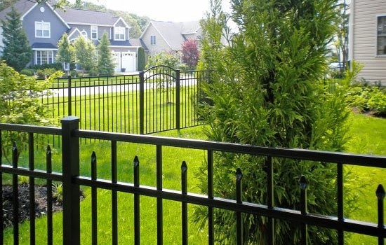 Eastern Ornamental Aluminum pool fence is available throughout our delivery area