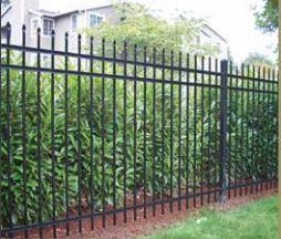 Ameristar Montage Rackable steel fence