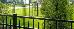 Eastern Ornamental Pool fence is available within the delivery area ONLY
