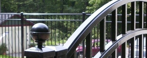 OnGuard is a nationally recognized and highly regarded brand of aluminum fence. Available in all heights and sizes as shown and in a choice of colors. OnGuard Aluminum Fence Systems are offered in residential, commercial and industrial grade materials. Click here to visit the OnGuard Fence page.