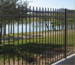 Ameristar Montage Rackable steel fence