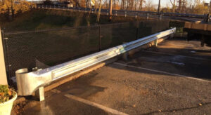 Profencesupply.com offers guard rail in steel and timber. Give us a call - it's toll free - 866.415.6609